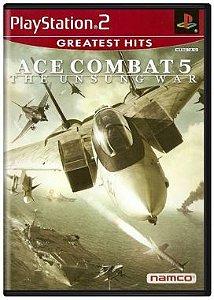 Ace Combat 5: The Unsung War - Playstation 2 - PS2