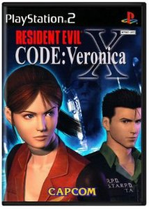 Resident Evil Code: Veronica X - Playstation 2 - PS2