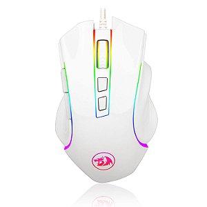 Mouse Gamer Redragon Griffin M607W RGB Branco