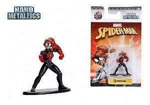 Nano Metalfigs Spider Girl -Marvel