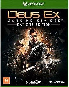 Deus Ex: Mankind Divided - Edição Day One