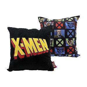 Almofada Fibra Veludo 25x25cm X- Men Classic