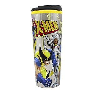Copo Viagem Metal X-Men Turma 450ml