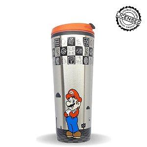 Copo Viagem Metal Super Mario 450ml - Nintendo