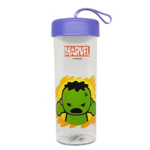 Garrafa Marvel C/Pingente Hulk 450ml