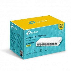 Hub Switch 8 Portas 10/100 Tp-Link LS1008