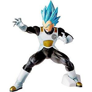 Action Figure Dragon Ball Heroes -Vegeta Transcendence Art Bandai Banpresto Multicor