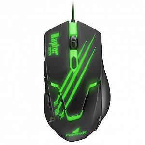 Mouse Gamer USB Fortrek Raptor Mod 60839 Preto