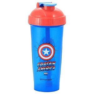 Shaker Fitness 600ml Capitão América