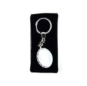 Chaveiro Cristal Oval Para Sublimação - D029