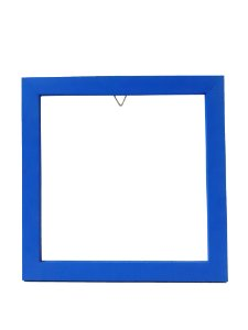Moldura de Madeira 20x20 - Azul