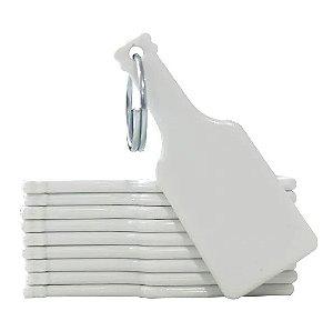 Chaveiro de Polímero Para Sublimação - Garrafa - Pacote Com 10 Unidades