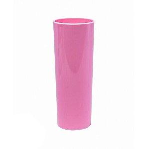 Copo Long Drink Rosa Bebê