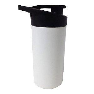 Squeeze Plástico Branco com Tampa Preta - Para Transfer