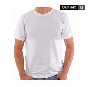 Camiseta Para Sublimação - Tamanho G - Branca
