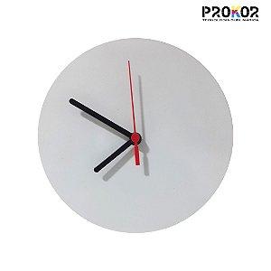 Relógio de Parede Redondo 20x20 em MDF Para Sublimação