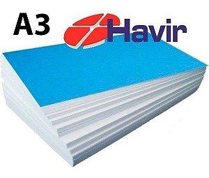 Papel Sublimático Havir Fundo Azul A3 - 90g - c/ 100 Folhas