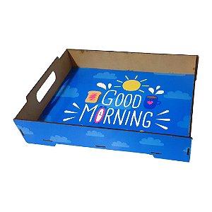 Bandeja Café da Manhã em MDF Para Sublimação
