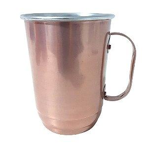 Caneca de Alumínio Para Transfer - 700ml Rosé
