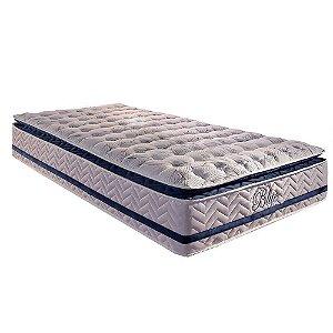 Colchão Paropas de Molas Pocket HR 33 Gel Blue Orthomedic PiIlow Top -Solteiro - 0,88x1,88x0,32 -
