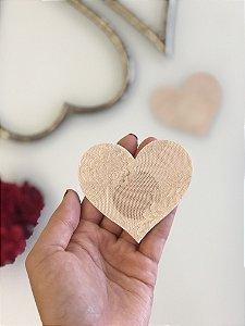 Tapa Mamilo | Coração em Renda
