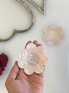 Tapa Mamilo | Flor em Renda