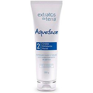 Aquaface Creme Esfoliante Facial 250g - Extratos da Terra