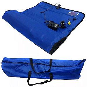 Manta Térmica Corporal 50 X 100 cm Azul para Estética - Estek