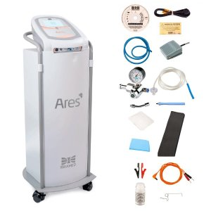 Ares Carboxiterapia com Gás Aquecido e Corrente High Volt - Ibramed