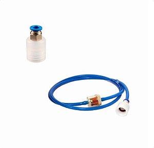 Mangueira + Filtro + Adaptador de Ventosas Para Aparelhos de Vacuoterapia - Med Sam
