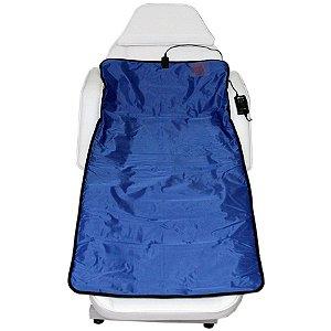 Manta Térmica Corporal 70 X 145 cm Azul para Estética - Estek