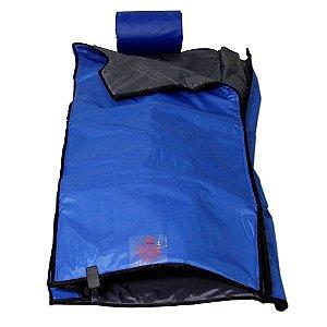Manta Térmica Corporal Mini Dome 70 X 145 cm Azul para Estética - Estek