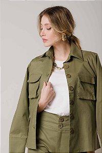 Camisa Alfaiataria Verde Militar Persistência