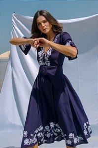 Vestido Azul Marinho Sensibilidade