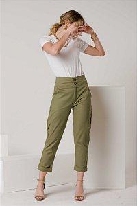 Calça Verde Militar Gentileza