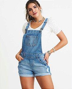 jardineira jeans villon