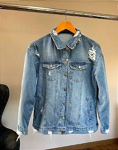 jaqueta jeans basica anelise villon