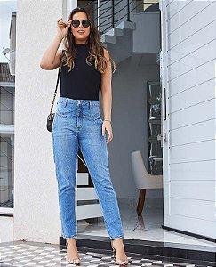 Calça mom grazi villon jeans