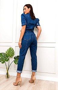 Macacão jeans nubia