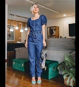 Macacão jeans maura