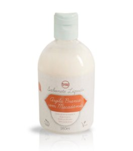 SABONETE LÍQUIDO DE ARGILA BRANCA BOUTIQUE DO CORPO 380ML