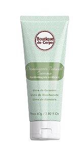 Desodorante Natural Cremoso sem Alumínio Boutique do Corpo 60g