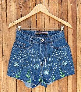 Short Jeans Olho Grego II