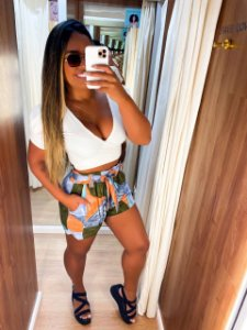 Short Estampado Cores