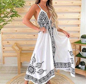 Vestido Pontas Indiano