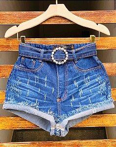 Short Short Jeans Cinto
