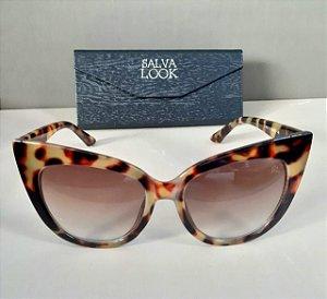Óculos de sol animal print