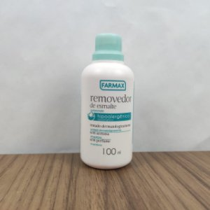 Removedor Sem Acetona Hipoalergênico Farmax 100ml