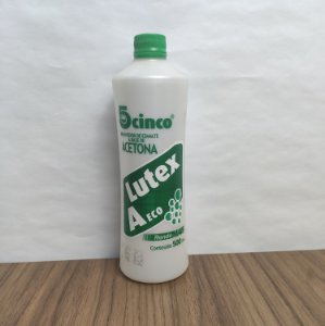 Acetona Lutex 5cinco 500ml