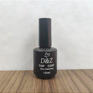 Top Coat D&Z 15ml não contém goma